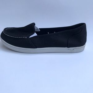 SO Womens Slip On Flats Loafers Size 7.5 Black